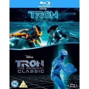 Tron: Double Pack Blu-ray (Tron and Tron: Legacy) - £8.05 @ The Hut. Use code 10NOV (+ Quidco)