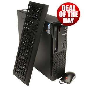 Lenovo ThinkCentre Edge 71 SFF PC / Pentium G840 2.8GHz / 2GB RAM / 320GB HDD / Windows 7 Professional £311.99 @ Misco