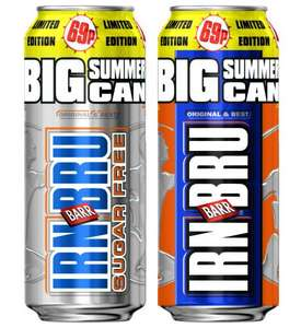 12x Irn Bru Cans (500ml) for £5 @ Tesco