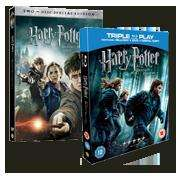 Simply Tap - Harry Potter and the Deathly Hallows Part 2 II on DVD £3.99 and Blu-Ray £7.99
