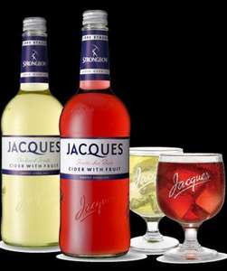 Jacques Cider 750ml was £4 a bottle now £1.25 @ TESCO INSTORE
