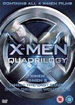 X-Men Quadrilogy - X-Men / X-Men 2 / X-Men: The Last Stand / X-Men Origins: Wolverine (DVD) @ Base.com £7.95 delivered!!