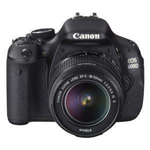 Canon EOS 600D with 18-55mm IS Lens  £579.95 (also quidco!) @  Jessops