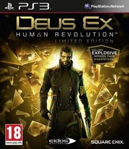 Deus Ex 3: Human Revolution: Limited Edition (Xbox 360) (PS3) - £10.67 using code @ Game