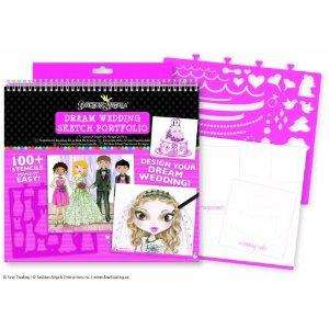 Fashion Angels 11512 Dream Wedding Design Portfolio Sketchbooks £5.79, Fashion Angels 11510 Interior Design Portfolio Sketchbooks £6.19 etc @ Amazon