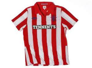 Umbro Glasgow Rangers 10/11 Away SS Football Shirt £10.99 Delivered @ Match