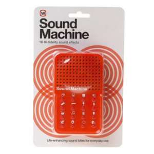 Sound Machine - 16 high quality effects - £5 delivered @ Play.com