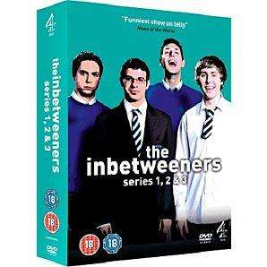 The Inbetweeners Series 1-3 DVD Boxset £10.00 Instore @ Asda