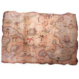 Pirate Treasure Map £3.60 delivered sold by parties2amaze @ Amazon
