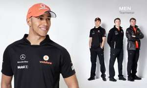 Vodafone McLaren Mercedes official eshop 50% off Teamwear + Extra 5% Off