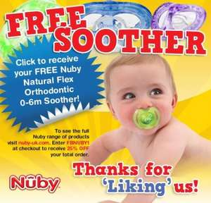 Free NUBY soother !!