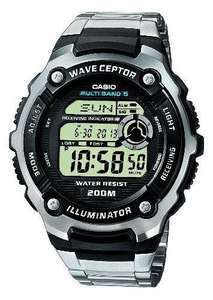 Casio Wave Ceptor WV-200DE-1AVER Men's Radio Controlled Digital Multifunction Watch £48.31 delivered by Amazon