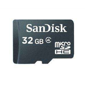 SanDisk microSDHC 32GB Card  £26.49 @ Amazon