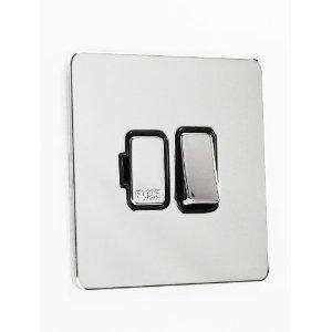 Schneider Electric Ultimate Switched Fused Connection Unit 13A Screwless Polished Chrome Flat Plate now £5.24 delivered @ amazon