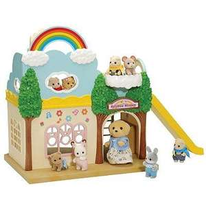 Sylvanian Families Rainbow Nursery £18 @ John Lewis (comes with over 20 pieces)