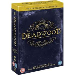 Deadwood: Ultimate Collection Box Set - Seasons 1 - 3 DVD £17.99 @ Play.com