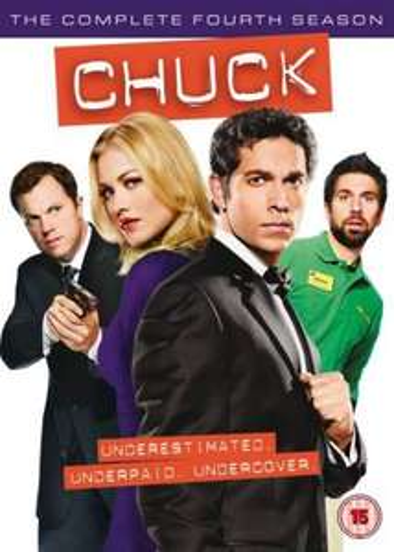 Chuck DVD Boxset season 4 £14.95 at Zavvi
