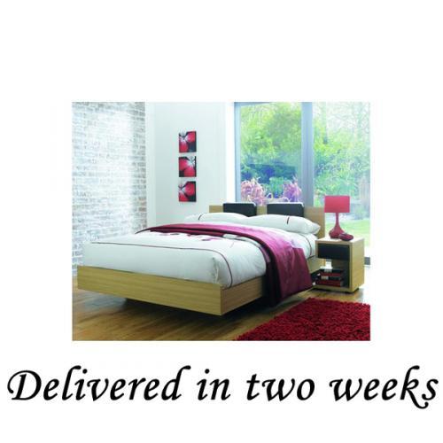 King Size Floating Oak Effect Bed £89.99 delivered @ Bargain Crazy till tomorrow!