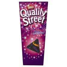 Quality street half price at Tesco - 400g cartons £2
