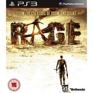 RAGE PS3 & XBOX 360 £13.21 Tesco Ent Price matched @ Amazon