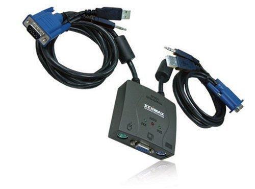 Edimax EK-UA2C 2-port USB KVM switch, with 2 cables £10.99 @ Amazon Marketplace (refurbished)