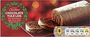 Christmas Chocolate Yule Log £1 @ Sainsburys & £1.15 @ Tesco