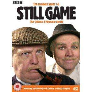 Still Game: The Complete Series 1-6 Plus Christmas and Hogmanay Specials (7 Disc) (DVD) - £16.98 delivered @ Sendit