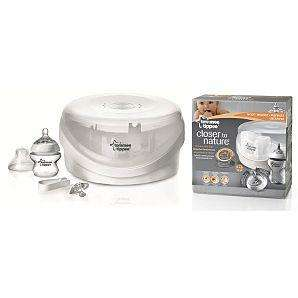 TOMMEE TIPPEE CLOSER TO NATURE MICROWAVE STERILISER £3.98 @ Asda direct
