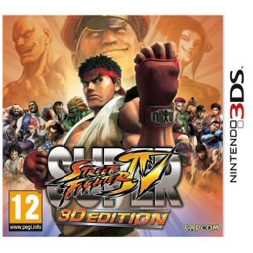 Super Street Fighter IV: 3D Edition (Nintendo 3DS) £11.99 @ Base.com