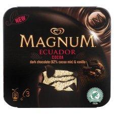Wall's Magnum Ghana Cocoa (3 x 110ml) & Wall's Magnum Ecuador Cocoa (3 x 110ml) £1.47 @ Tesco