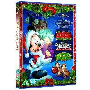 Sainsbury's Mickey Mouse Xmas Movies Collection (3)  DVD £5