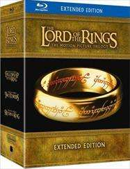 LOTR Extended Trilogy - Bluray - Tesco Entertainment 40.00