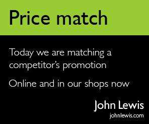 John Lewis Price Matching Online & In Store - More details to come soon