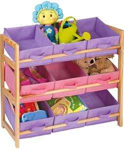 3-Tier Wooden Toy Basket Storage unit £13.49 HALF PRICE @ argos