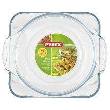 Pyrex 2 Piece Set Square and Rectangle Dishes £1.75 at Tesco