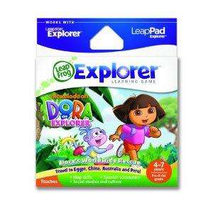 Leapfrog Leappad Explorer / Leapster - Dora the Explorer Game - £12.66 @ Amazon