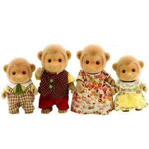 sylvanian monkey family £9 delivered - amazon