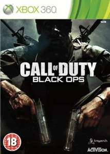 Call of Duty Black Ops XBOX 360 £8.89 at GAME - Pre Owned