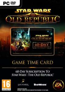 Star Wars: The Old Republic Time Card preorder £14.88 (inc. P&P) at sendit.com