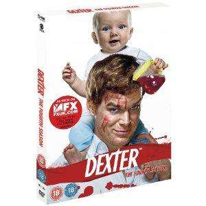 Dexter season 4 £8.97 @ Amazon