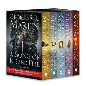 A Game of Thrones: The Story Continues: A Song of Ice and Fire: volumes 1-4 (A Game of Thrones / A Clash of Kings / A Storm of Swords: Steel and Snow ... of Swords: Blood and Gold / A Feast for Crows) £18.84 [-53%]