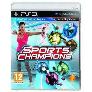 Sports Champions (PS3 Move) - Playstation 3 - £17.99 Delivered @ Amazon & Play