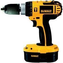 DeWalt 18v Combi Drill & 2 batteries - £99 @ B&Q