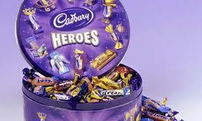 Cadbury Heroes 800g/ Cadbury Roses 850g 2 for £8 @ Morrisons
