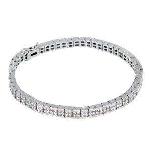 18ct Gold 6ct Diamond Square Set Bracelet 7.5''  £5,021.70 @AMAZON