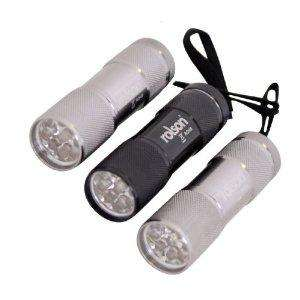 Rolson Tools 61760 3pc 9 LED Torch Set With Batteries by Rolson Tools £5.47 delivered @amazon