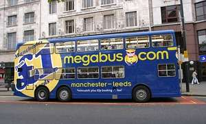 megabus sale return travel from £0.50p possible
