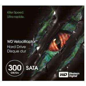 WD 300GB Velociraptor Hard Drive - £97.48 + 3.99 Delivery - Best Buy