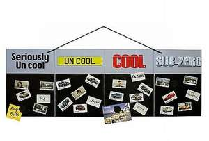 Top Gear Cool Wall - Great Gift For Christmas for £8.24 @ Dealtastic