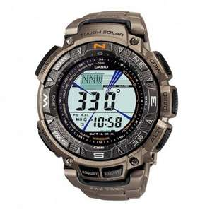 Casio ProTrek Prg-240T Titanium £120.94 at Amazon!